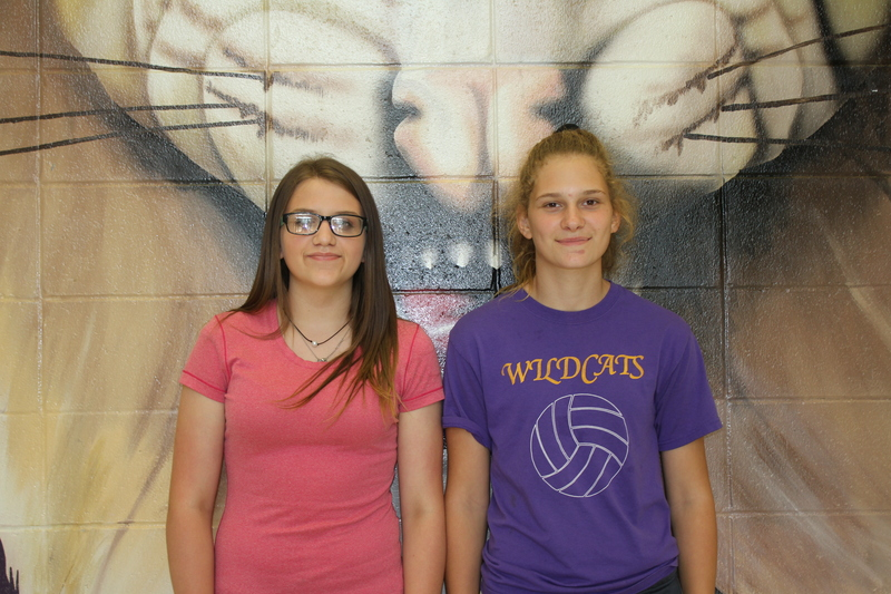 Jr. High, Students of the Month